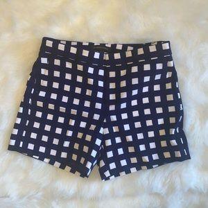 banana republic gingham shorts